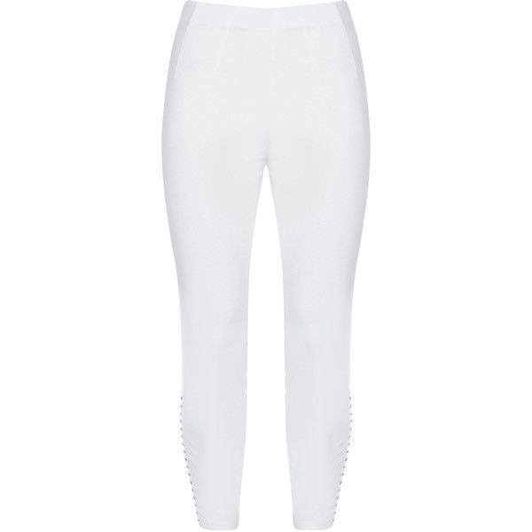 WHITE LEGGINGS - XL - C CUT