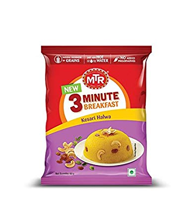 MTR KESARI HALWA - 3 MINUTE BREAKFAST - 60 GM