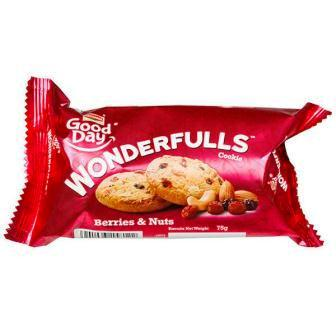 BRITANNIA GOOD DAY WONDERFUL COOKIES (BERRIES & NUTS) - 75 GM