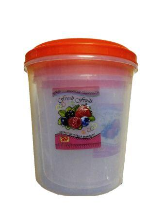 BIG PLASTIC CONTAINER SET - 1