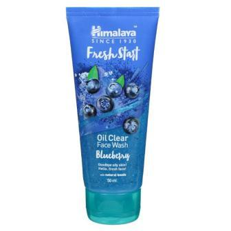 HIMALAYA FRESH START OIL CLEAR BLUEBERRY FACE WASH - 50 ML