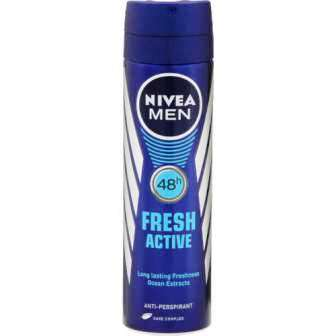 NIVEA MENS DEODORANT - FRESH ACTIVE - 150 ML