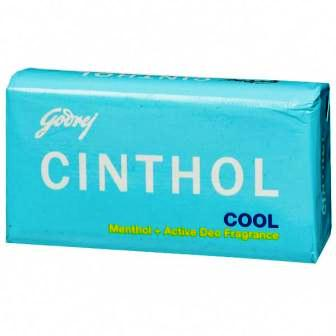 CINTHOL COOL MENTHOL PLUS ACTIVE DEO SOAP - 75 GM