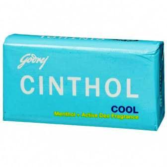 CINTHOL COOL MENTHOL PLUS ACTIVE DEO SOAP - 75 GM