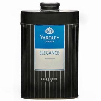 YARDLEY LONDON ELEGANCE DEODORIZING TALC - 100 GM