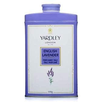 YARDLEY LONDON ENGLISH LAVENDER PERFUMED TALC - 100 GM