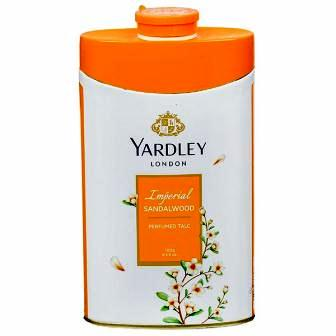 YARDLEY LONDON IMPERIAL SANDLWOOD PERFUMED TALC - 100 GM