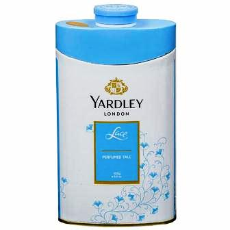 YARDLEY LONDON LACE PERFUMED TALC - 100 GM