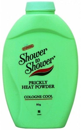 SHOWER TO SHOWER PRICKLY HEAT POWDER - COlOGNE COOL - 80 GM