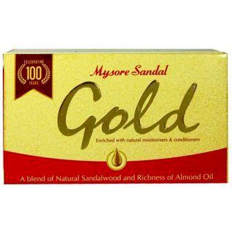 MYSORE SANDAL GOLD SOAP - 125 GM
