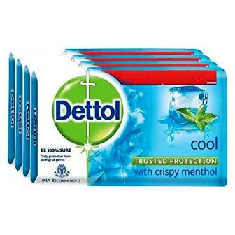 DETTOL COOL SOAP - 75 GM X 4 SPECIAL OFFER
