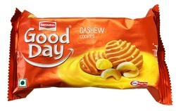 BRITANNIA GOOD DAY COOKIES - CASHEW - 100 GM