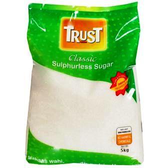 TRUST CLASSIC SULPHURLESS SUGAR - 5 KG