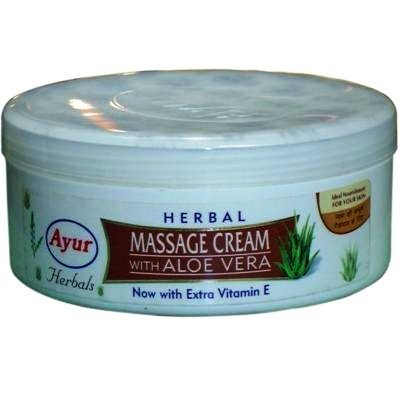 AYUR HERBAL MASSAGE CREAM WITH ALOE VERA - 200 ML