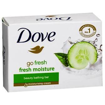 DOVE GO FRESH MOISTURE SOAP - CUCUMBER - 75 GM