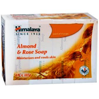 HIMALAYA SOAP - ALMOND & ROSE - 125 GM