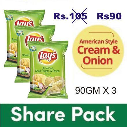 LAYS PACK OF 3 OFFER
