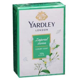 YARDLEY LONDON IMPERIAL JASMINE LUXURY SOAP - 100 GM