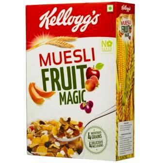 KELLOGGS MUESLI FRUIT MAGIC CORN FLAKES - 500 GM