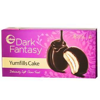 SUNFEAST YUMFILLS CAKE - BISCUIT- 23 GM X 6