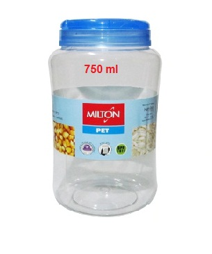 Milton Crisp And Clear Round 750 ML Container Pet Jar