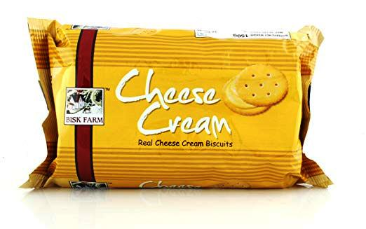 BISK FARM CHEESE CREAM BISCUIT - 150 GM