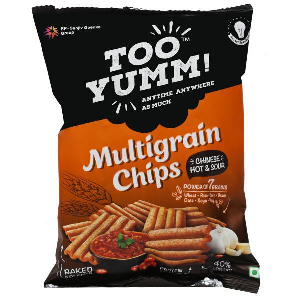 TOO YUMM MULTIGRAIN CHIPS CHINESE HOT & SOUR - 28 GM