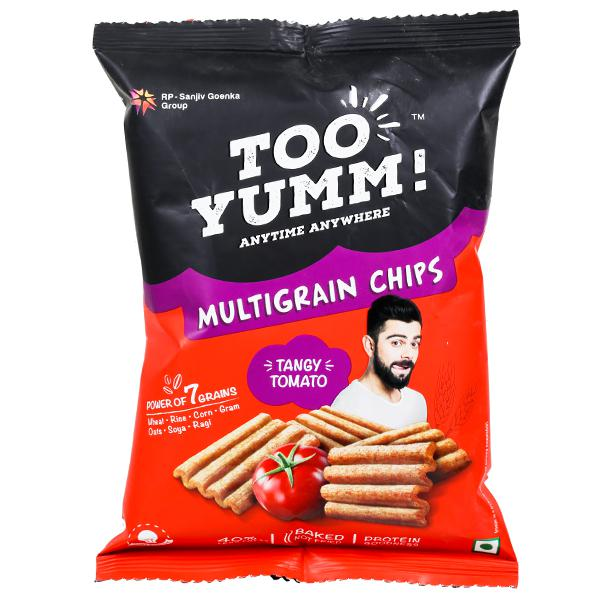 TOO YUMM MULTIGRAIN CHIPS TANGY TOMATO - 28 GM