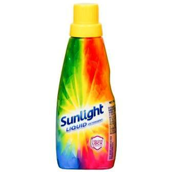 SUNLIGHT LIQUID DETERGENT - COLOUR LOCK TECHNOLOGY - 430 ML