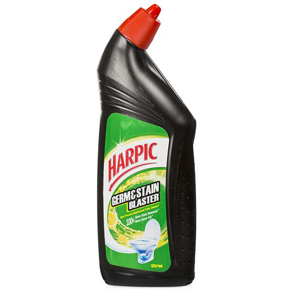 HARPIC GERM STAIN BLASTER CITRUS TOILET CLEANER - 750ML