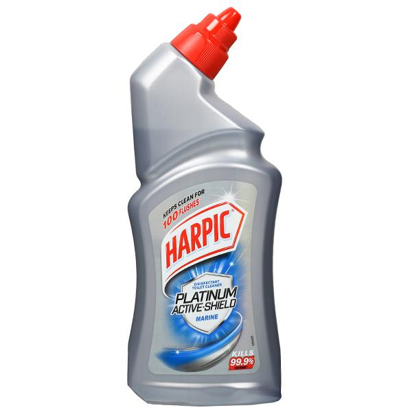 HARPIC PLATINUM ACTIVE SHIELD MARINE TOILET CLEANER - 500ML