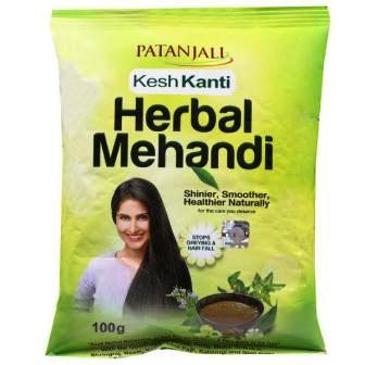 PATANJALI KESH KANTI HERBAL MEHENDI MEHANDI - 100 GM