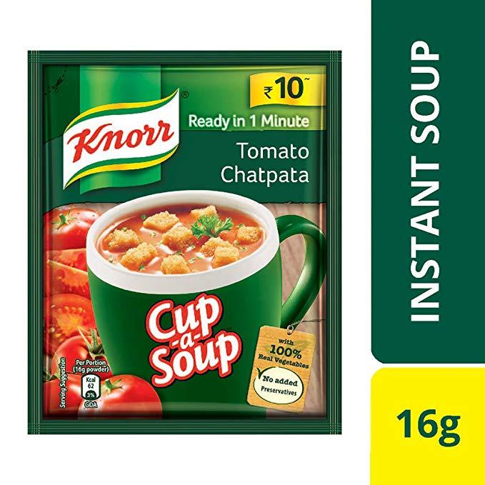 KNORR TOMATO CHATPATA SOUP - 14 GM X 2