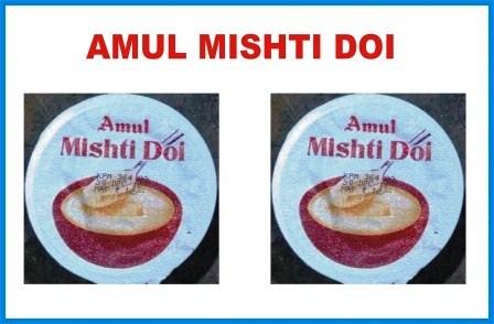 AMUL MISHTI DOI - DAHI - CURD - 85 GM X 2