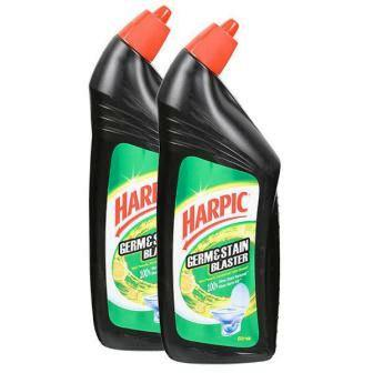 HARPIC GERM STAIN BLASTER CITRUS TOILET CLEANER SPECIAL OFFER - 750 ML X 2