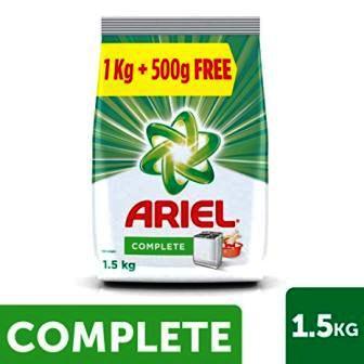 ARIEL COMPLETE DETERGENT POWDER - 1 KG PLUS 500 GM FREE