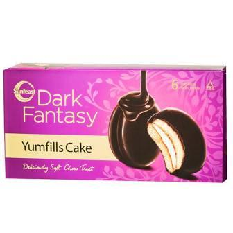 SUNFEAST YUMFILLS CAKE - BISCUIT - 23 GM X 11