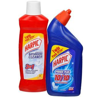 HARPIC TWIN PACK - TOILET CLEANER & BATHROOM CLEANER - 500 ML X 2