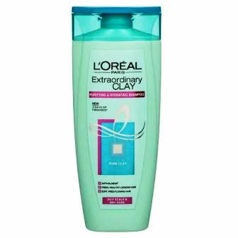 LOREAL PARIS EXTRA ORDINARY CLAY SHAMPOO - 175 ML