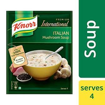 KNORR PREMIUM INTERNATIONAL ITALIAN MUSHROOM SOUP - 48 GM