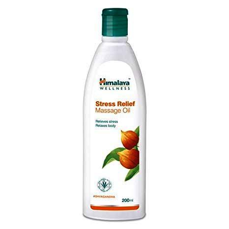 HIMALAYA STRESS RELIEF MASSAGE OIL - 200 ML