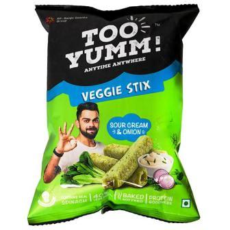 TOO YUM VEGGIE STIX SOUR CREAM & ONION - 56 GM