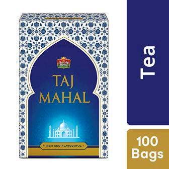 TAJ MAHAL TEA BAGS - 100 PCS