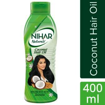 NIHAR NATURALS COCONUT HAIR OIL (JASMINE) - 400 ML