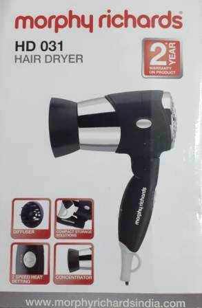 MORPHY RICHARDS HAIR DRYER HD 031 - 1 PC LIMITED OFFER
