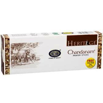 CYCLE HERITAGE CHANDANAM PRAYER INCENSE STICKS DHUPKATHI AGARBATTI - 215 GM FREE AVIA SOAP