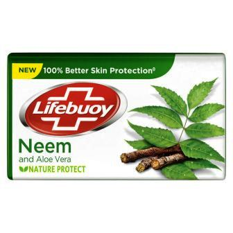LIFEBUOY NEEM & ALOE VERA SOAP NEW - 125 GM