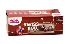 MONGINIS SWISS ROLL CHOCOLATE - 100 GM