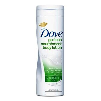 DOVE GO FRESH NOURISHMENT BODY LOTION - 400 ML