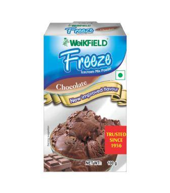 WEIKFIELD FREEZE ICECREAM - CHOCOLATE - 100 GM